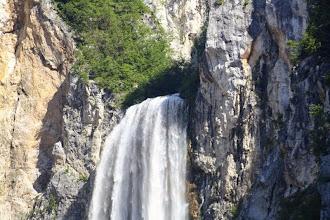 Photo: Der Boka-Fall ist der höchste Wasserfall in Slowenien.