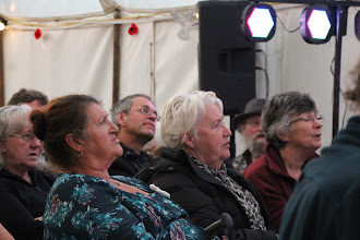 Photo: audience for Peace Concert