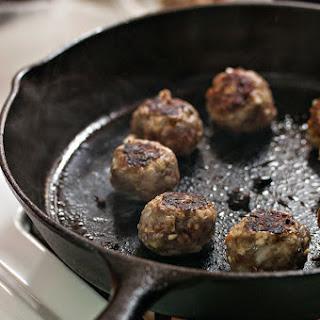 Creamy Porcupine Meatballs.