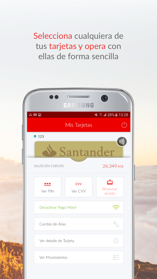 Santander Wallet- screenshot