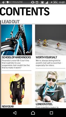 Cyclist: Road Cycling Magazine - screenshot