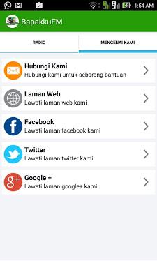 BapakkuFM - screenshot