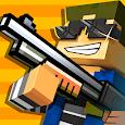 Cops N Robbers - 3D Pixel Craft Gun Shooting Games apk