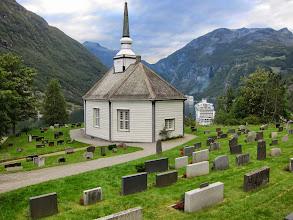 Photo: Geiranger church