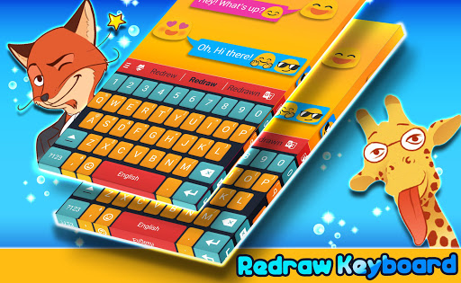 New 2018 Keyboard app (apk) free download for Android/PC/Windows screenshot