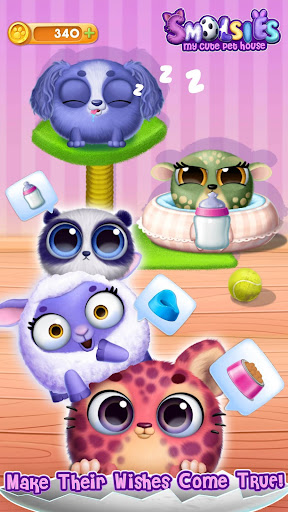 Smolsies - My Cute Pet House android2mod screenshots 8