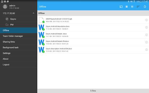 Qsync screenshot 12