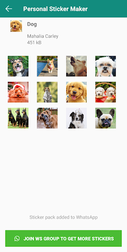 Personal Stickers screenshot 4