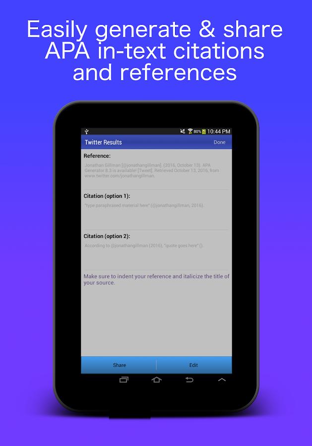apa format reference generator free