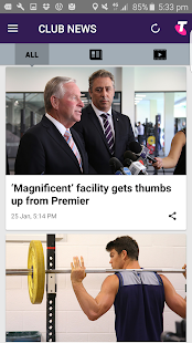 Fremantle Dockers Official App- screenshot thumbnail