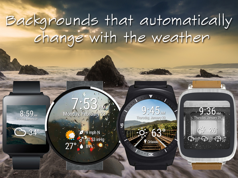 Weather Time for Wear- screenshot