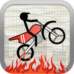 Stick Stunt Biker Free Icon
