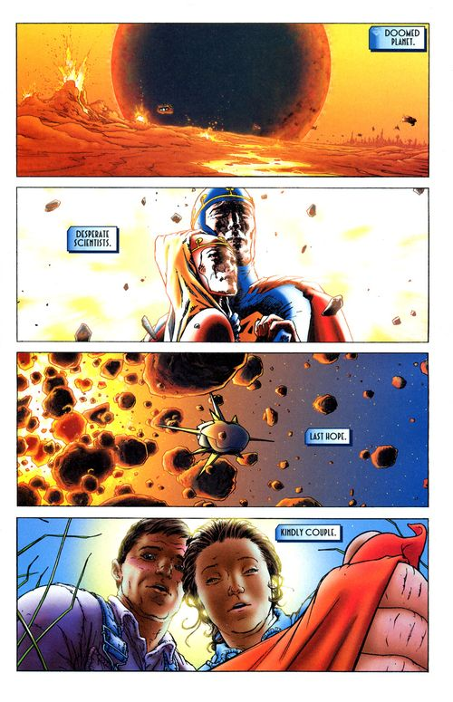 Image result for all star superman first page
