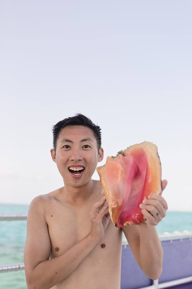 Conch Turks and Caicos.