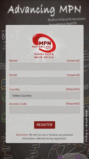 MPN Masterclass 2015