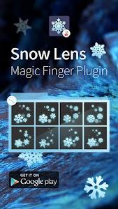 Snow Lens-Magic Finger Plugin screenshot 3
