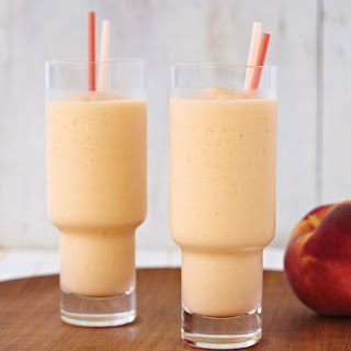Sweet Peach Smoothie.
