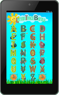 Letter Trace Battle- Write ABC- screenshot thumbnail