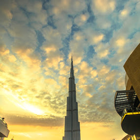 Burj Khalifa -Dubai by Tariq Ak - Buildings & Architecture Statues & Monuments ( wedding photography, tariq ak, tariq ak photography, fashion photography, photography )