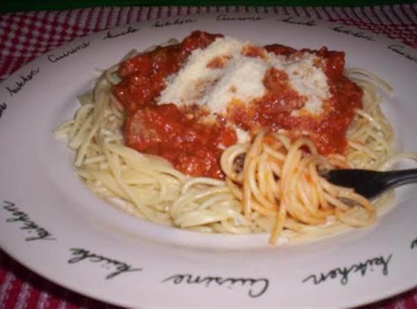 Meatloaf Spaghetti Sauce Recipe