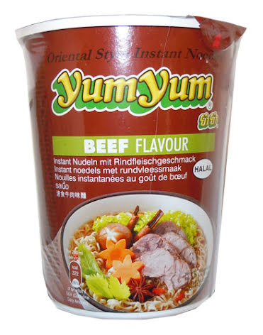 Yum Yum CUP Beef Noodles