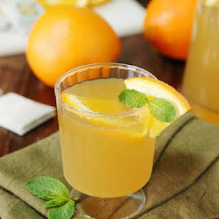 Orange-Green Tea Punch.