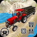 Rural Farm Tractor 3d Simulator - Tractor Games icon