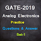 Download GATE-2019 Analog Electronics Practice Set-1 For PC Windows and Mac