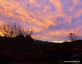 Photo: Sunset at Rancho Primavera