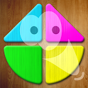 Kids puzzle - Mosaic shapes game icon