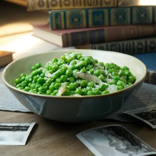 Parmesan Peas.