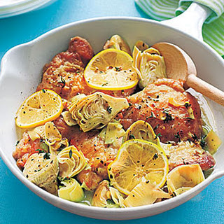 Chicken with Artichokes and Lemon