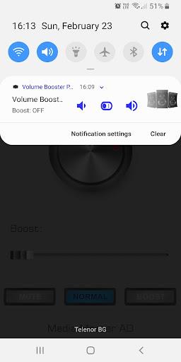 Volume Booster Pro 1.2 Screenshots 1