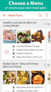 Recipe Calendar - Meal Planner - náhled