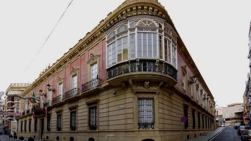 Palacio de la Diputación Provincial de Almería.