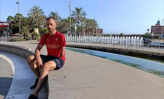 Jairo Ruiz entrena en Almería