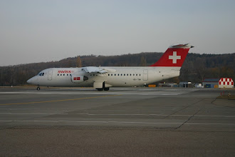 Photo: Jumbolino HB-IYW ready for departure on runway 28 http://www.swiss-flight.net