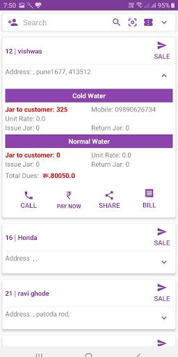 jarmantra app Drinking Water Jar Supply Business screenshots 3