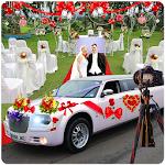 Luxury Wedding Limousine Driver Icon