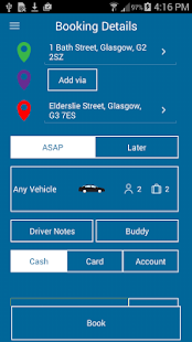 Hampden Cabs and Private Hire- screenshot thumbnail
