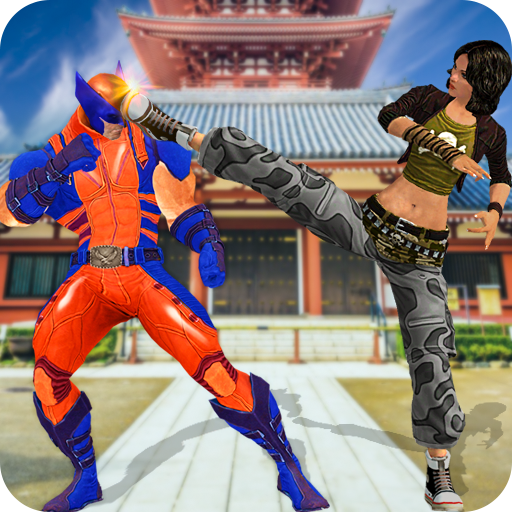 Kung Fu vs Superhero Fighting Game
