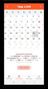 Download Lịch vạn niên 2020 - Lịch Việt & Lịch âm For PC Windows and Mac apk screenshot 4