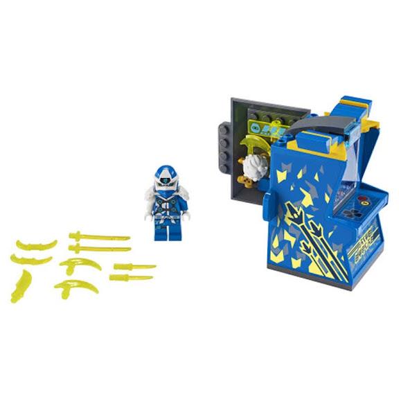 Contenido de Lego® 71715 Cabina de Juego: Avatar de Jay