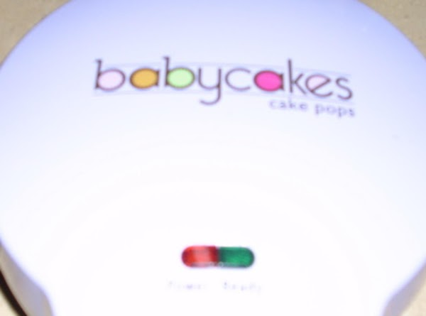 Heat Baby Cake Maker Up And Put A 1/2 TABS Of Bater Into Little...