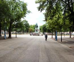 Photo: eine Parkallee in Nancy