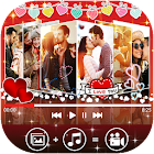 Love Video Maker With Music & Editor icon