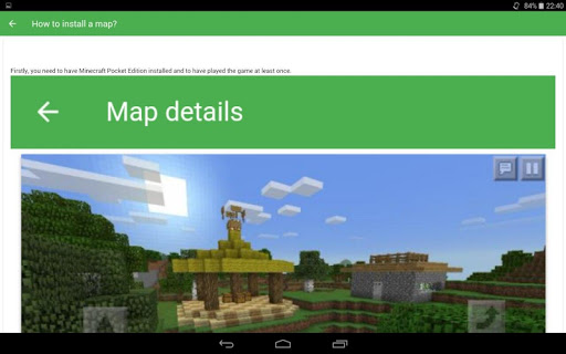 mapas para minecraft pe apk