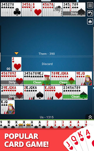 Buraco: Free Canasta Cards  gameplay | by HackJr.Pw 11