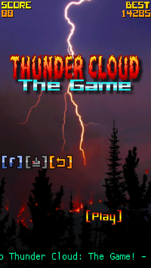 Thunder Cloud The Game- screenshot