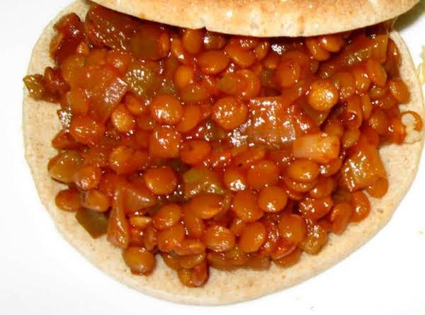 Sloppy Joes With Lentils Recipe